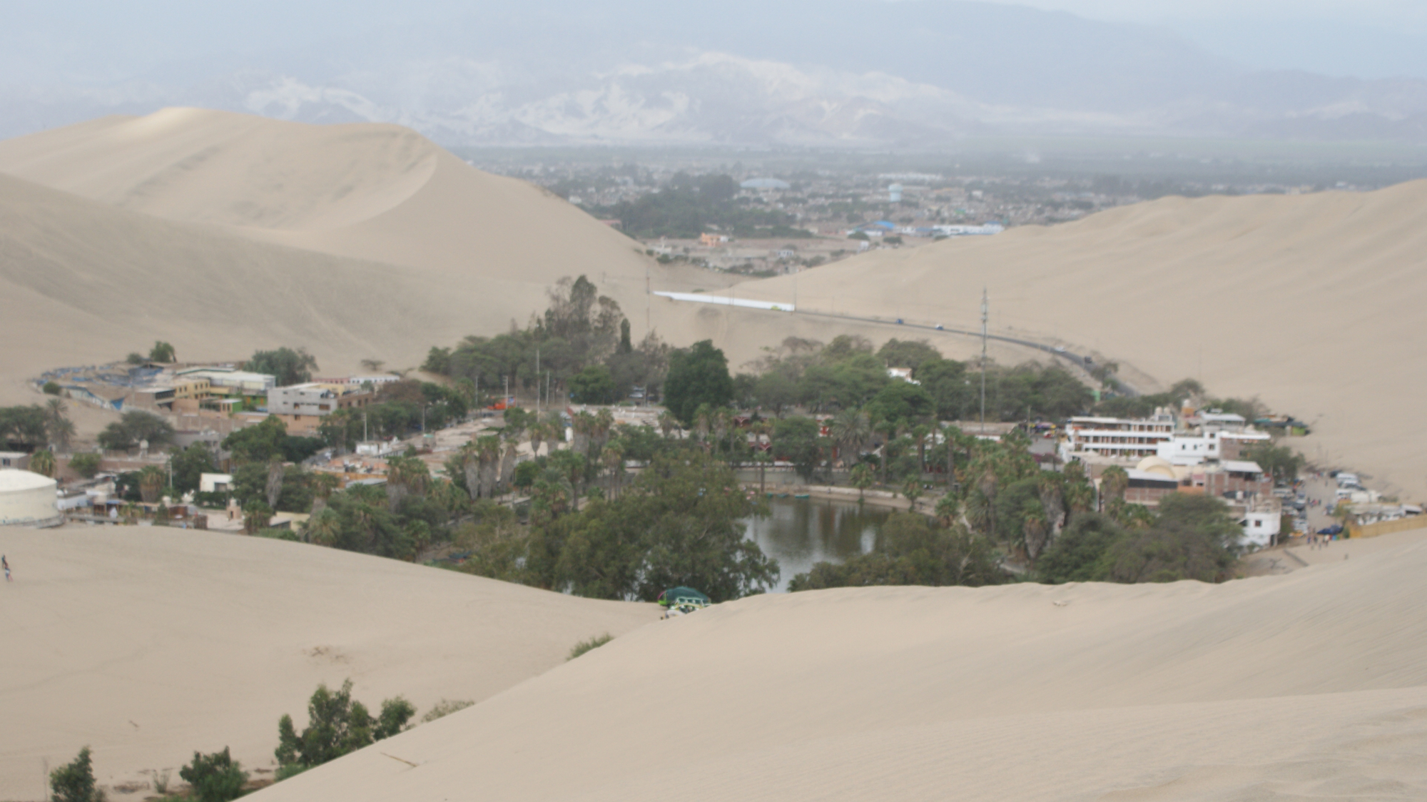 Peru sand dunes